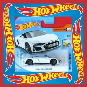 Hot-Wheels-2020-2019-audi-r8-Spyder-175-250-neu-amp-ovp