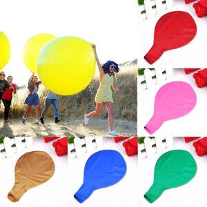 Lk-91-4cm-plein-de-Couleurs-Grand-Large-Geant-Ballons-Latex-Mariage-Fete
