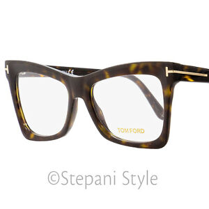 0b3328e405 Image is loading Tom-Ford-Butterfly-Eyeglasses-TF5457-052-Matte-Shiny-