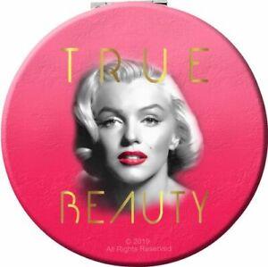 Marilyn Monroe Round Compact Mirror: True Beauty
