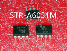 5 PCS STR-A6052M DIP-7 Power IC for PWM Type Switching Power Supply