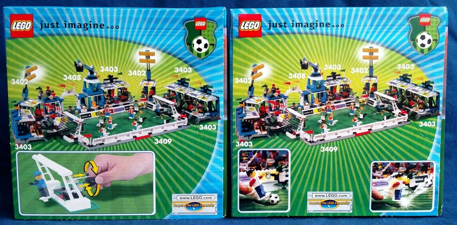 LEGO Soccer sets 3412 Point shooter