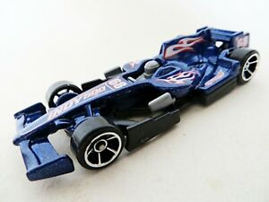 HOTWHEELS 'F1 RACER / INDY 500 #68 RACING CAR'. BLUE, FLAMES. MINT/PERFECT.