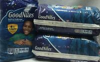 Goodnites Disposable Underwear Boys L-xl Lot Of 3 Packs 33 Total Fits 8-14