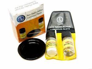LEUCHTMASSE-Leuchtpaste-Komplett-Set-Gruen-leuchtend-NEU
