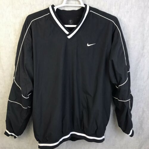 Nike Golf  Pullover Jacket Windbreaker V Neck Men'