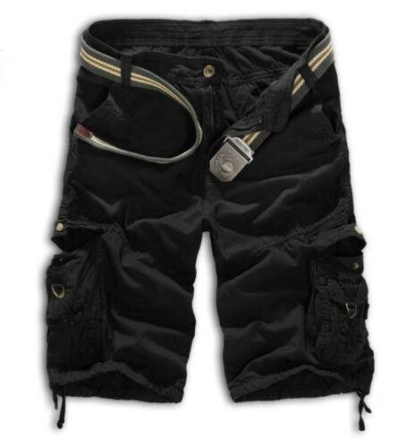 Herren Cargohose Shorts Bermudas Kurzhose Sporthose Freizeit Sommer Hose Casual