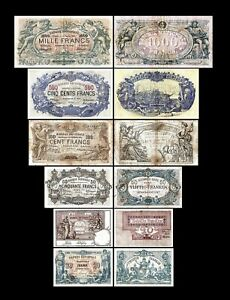 2x  20 - 1.000 Francs - Edition 1893 - 1909 - Reproduction - B 22