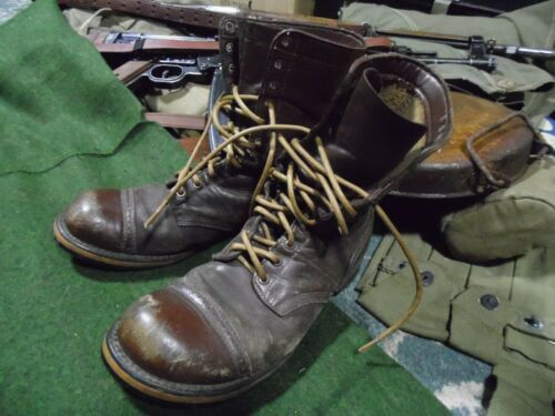 WW2 US Army Paratroopers Corcoran Jump Boot Laces 205cm thick waxed 101st 82nd