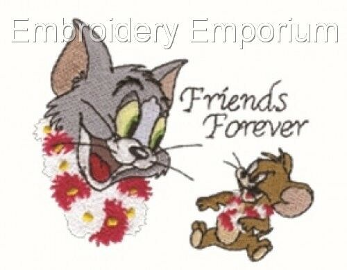 TOM /& JERRY COLLECTION MACHINE EMBROIDERY DESIGNS ON CD OR USB