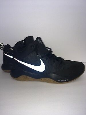 No pretencioso Andes raspador  Men's NIKE Zoom Rev BASKETBALL Shoes Size 7-13 Black (852422 010) | eBay
