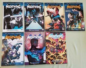 Nightwing Rebirth Vol 1 2 3 4 5 6 9 TPB TP SC Trade lot Grayson Seeley Jurgens