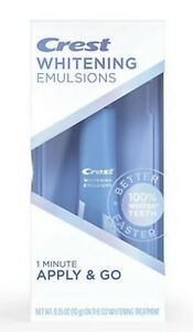 Crest Whitening Emulsions Leave On Whitening Treatment New in Box