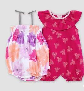 Cranberry Red Burt/'s Bees Baby® Baby Girls/' 2pk Butterflies Awaken Bubble Set