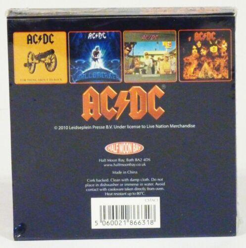 AC//DC Tropico DC Set de sous-verres Art de la Table AC