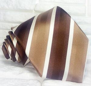 Cravatta-uomo-marrone-Regimental-seta-Made-in-Italy-business-matrimoni-38