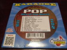 CHARTBUSTER POP HITS KARAOKE 30165 MAY 2011 CD+G 12 SONGS