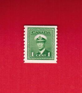 1948  #  278 ** FINE VFNH  TIMBRE  CANADA  STAMP KING GEORGE VI COIL