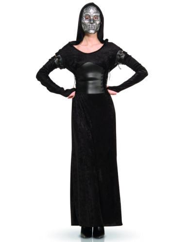 Cod.71866 Damenkostüm Bellatrix Lestrange schwarz-silbergrau