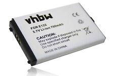 Batteria 700mAh 3.7V Li-Ion per Cordless TELECOM SLIM 4 / ALADINO Standard