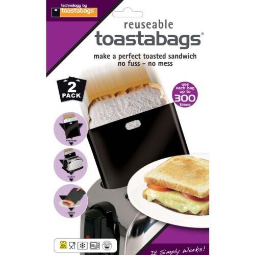 Toastabags réutilisable lavable au lave-vaisselle grille-pain grillé toasts grillé sandwich sacs