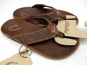 Chanclas Nui para hombres, Trench Blue / Clay, US 12 M
