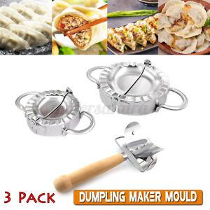 Kit Edelstahl Teig Presse Maker Knödel Pie Ravioli Form Ravioliformer Dumpling