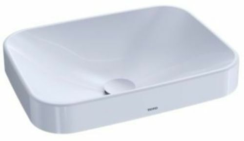 "Toto LT425G Cotton Arvina 19-11/16"" Vitreous China Vessel Bathroom Sink"