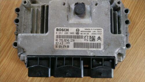 Immo Apagado Plug /& Play Peugeot Citroen Bosch 0261208908 9662467480 ME7.4.5