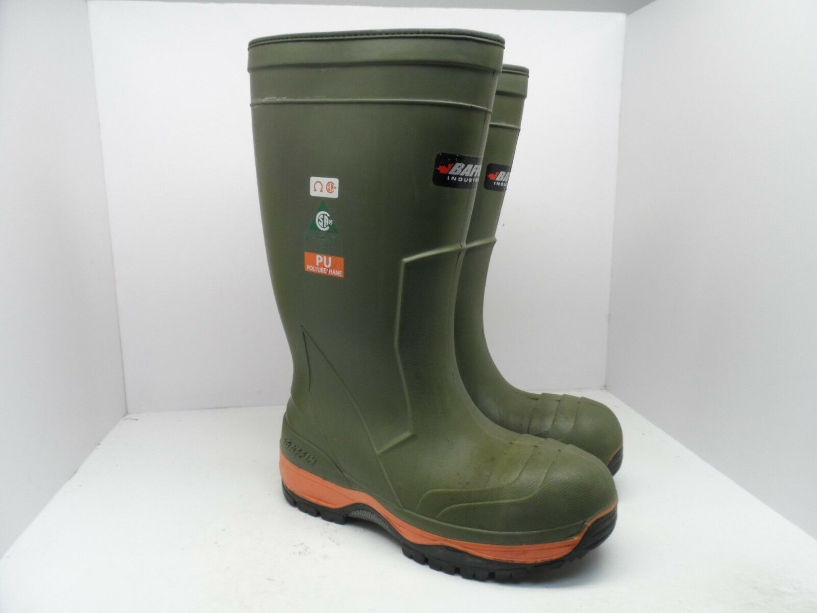 Baffin Men's Ice Bear Safety Toe Steel Plate Work Boots Green Size 11M