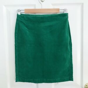38ba33a67b Old Navy Emerald Green Corduroy Stretch Pencil Skirt - Size Petite 0 ...
