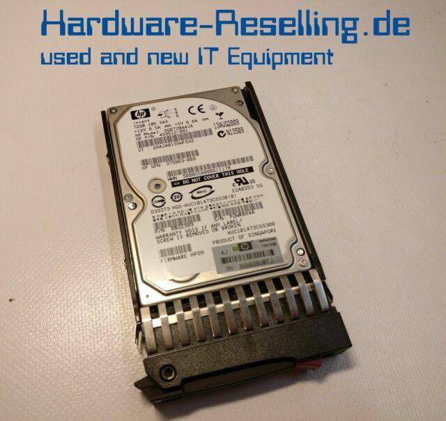 "Hp 72GB 10k 2.5"" SAS DG072BAAJA 375863-008 434916-001 459512-001"