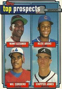 1992 Topps Chipper Jones 551 Baseball Card
