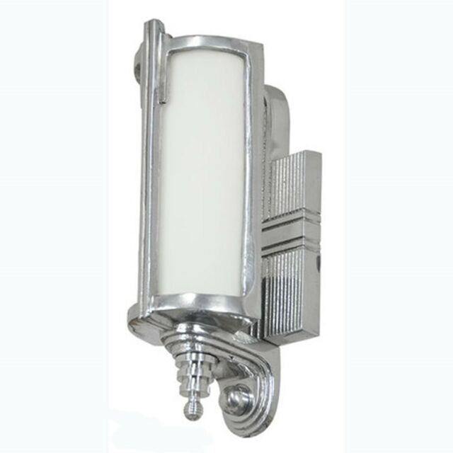Art Deco Streamline Wall Sconces Lighting Modernist 1930's Recreated (34-SL-NES)