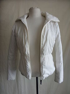 Image is loading Ladies-Coat-Hooch-Size-8-cream-off-white- 9039c71ad