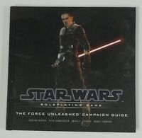 Star Wars Roleplaying Game The Force Unleashed Campaign Guide Book Hardcover