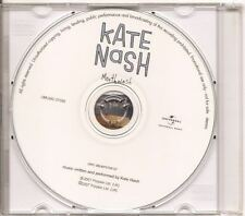 KATE NASH Mouthwash DUTCH PROMO ACETATE CD single