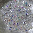 "25 Perles Cristal -TOUPIES SWAROVSKI - CRYSTAL ""AB"" 001 - 4 mm"
