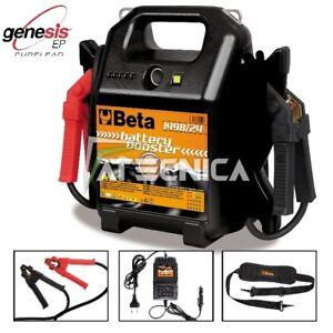 Avviatore caricabatterie booster Beta 1498/24 per batteria auto-furgoni 24V