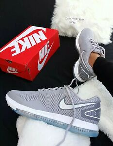 3e17e6f425b 12 WMNS | 10.5 MEN'S Nike Zoom all out 2 Running Training GRAY ...
