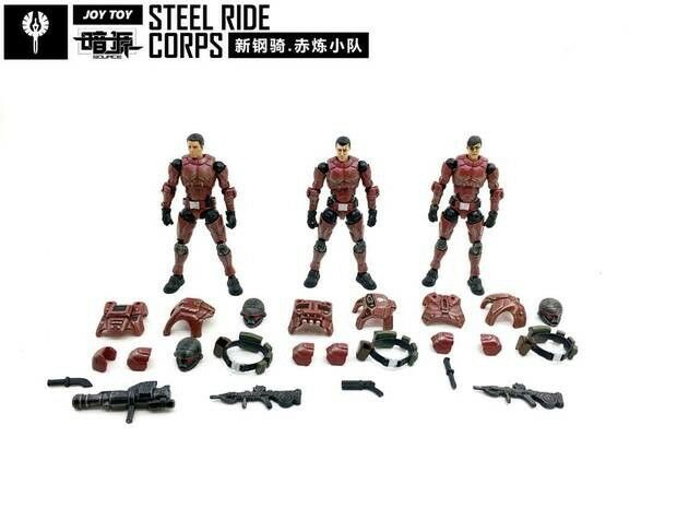 JOY TOY 4th Generation  New Honed Steel Ride Ride Ride Corps 1 27 Action Figures c6ec1a