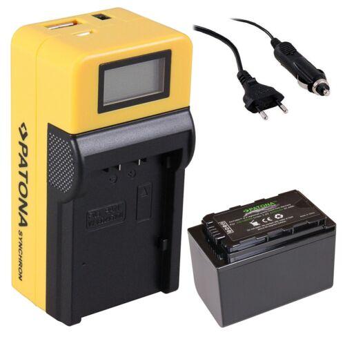 1x premium batería vw-vbd58 para Panasonic hc-x1000 LCD síncrono cargador