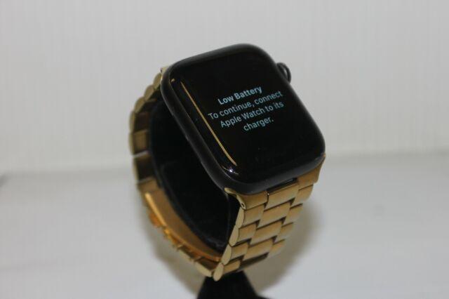 Celular Apple Watch Serie 5 Gris Nike Sport + 44mm banda del mercado de accesorios #14794R