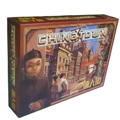 China Town Board Game Card Game Trading Games for Party Friends
