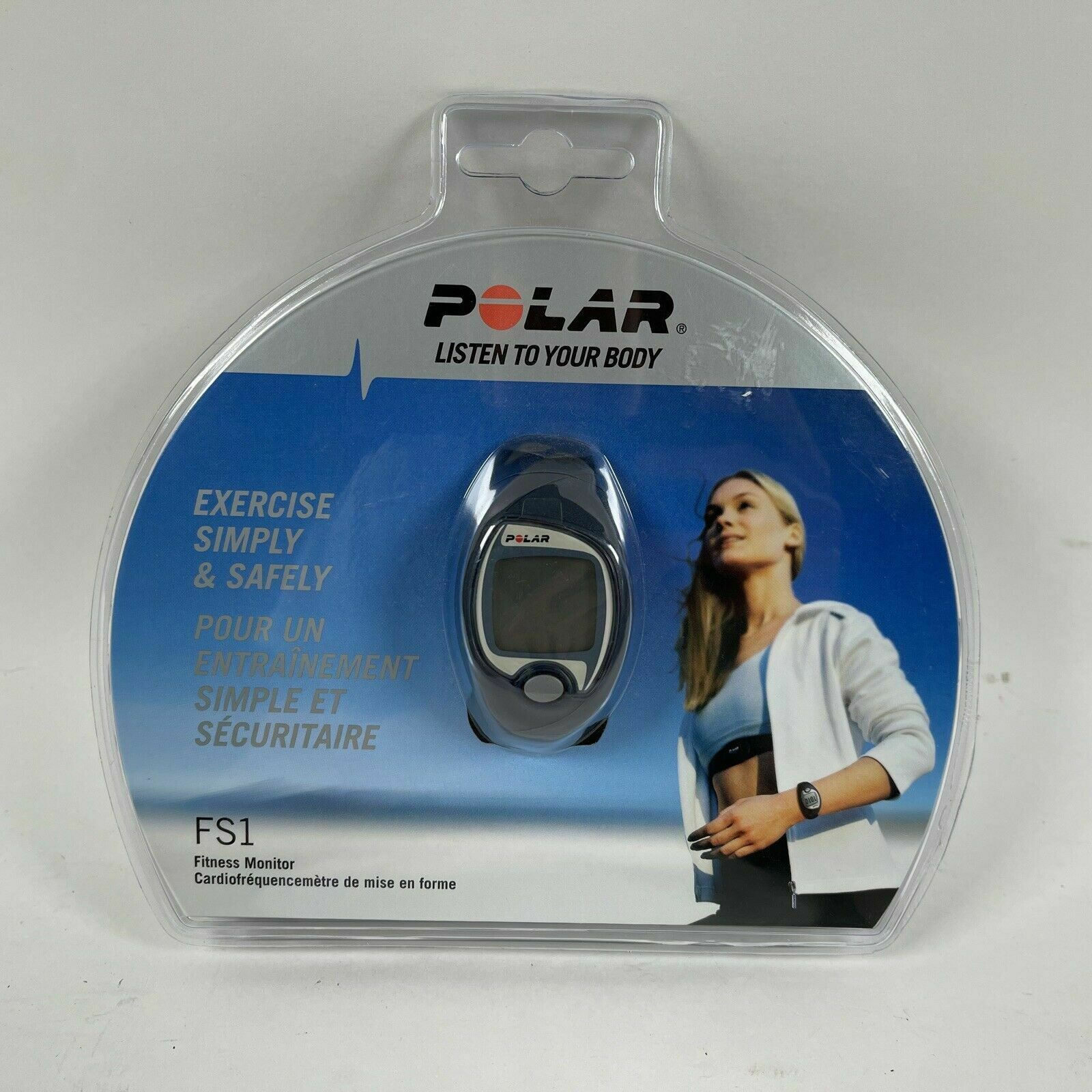 Polar FS1 Fitness Monitor Watch With Hear Rate Tracker NEW SEALED!