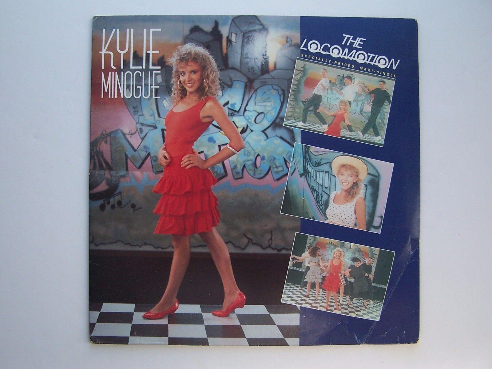Kylie Minogue - The Loco-Motion Vinyl Single Record 0-2