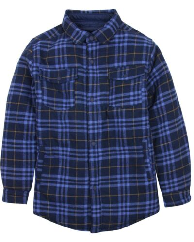 Sizes 8-16 Mayoral Junior Boy/'s Reversible Plaid Shirt//Jacket