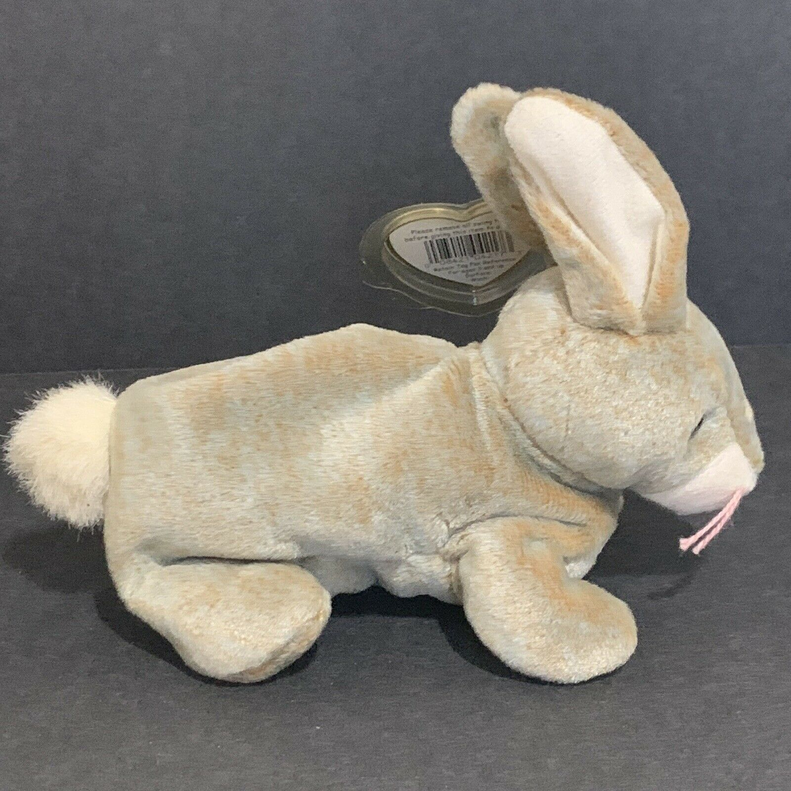 Nibbly The Rabbit Ty Beanie Baby RARE 4 Errors Tags and Tag Protector May 7 1998 for sale online