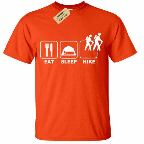 Bambini Ragazzi Ragazze a dormire Escursione T-Shirt Uomo da Escursionismo Camping arrampicata ALPINA