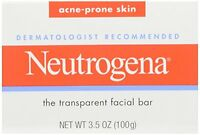 3 Pack - Neutrogena Acne Prone Skin Formula Facial Bar 3.50oz Each on sale
